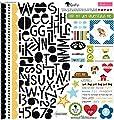 Bella Blvd Rover Treasures & Texts Dog Scrapbook Stickers