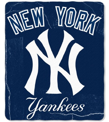 New York Yankees 50X60 Fleece Blanket - Wicked Design