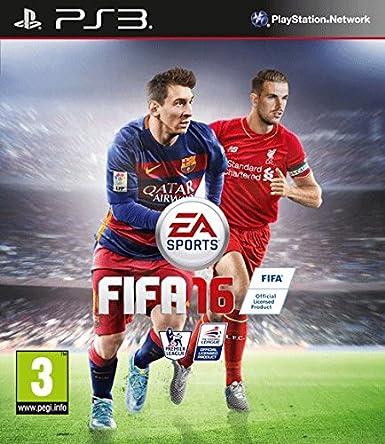 Descargar juego fifa 16 en español para Playstation 3