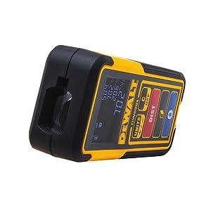 DEWALT Laser Measure Tool/Distance Meter, 100-Feet with Bluetooth (DW099S) (Tamaño: 100')