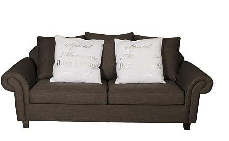 Sofa Vintage Florida 3 Sitzer anthrazit