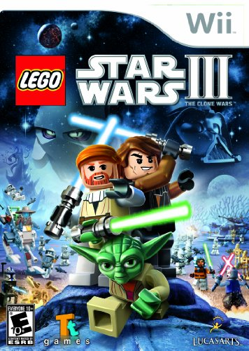 Lego Star Wars III: the Clone Wars - Nintendo