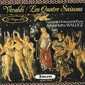 Antonio Vivaldi : Les quatre saisons - Concerto pour hautbois et cordes en R� mineur