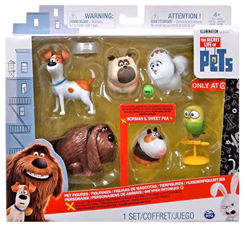 The Secret Life Of Pets, Pack with set of 6 figure for the film