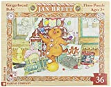 Gingerbread Friends 36-PieceFloor Puzzle by New York Puzzle Company