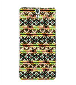 PrintDhaba Pattern D-5234 Back Case Cover for SONY XPERIA C5 ULTRA (Multi-Coloured)