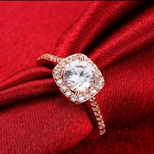 Eternity Love Women's 18K Rose/White/KC Gold Plated ...