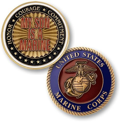 My Son is a Marine Coin