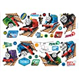 Fun4Walls CGI Thomas and Friends Stikarounds Repositionable Wall Stickers