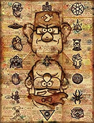 Gravity Falls - Secret Messages Poster