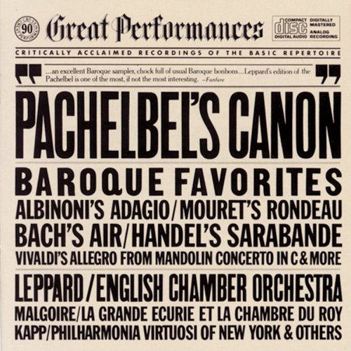 ORCH Canon  amp Other  Pachelbel Canon Album