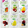 Crystal Light Pure On The Go Drink Mix Variety Pack, 6 Flavors, 1 Box of Each Flavor, 6 Boxes Total from Kraft Foods