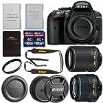 Nikon D5300 DX Format Camera Body + N...