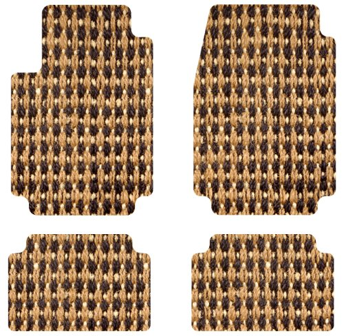 intro tech coco front and second row custom floor mats for