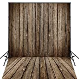 4X6ft Art Fabric Photography Rustic Wood Floor Backdrop for Photography Newborn Backdrop D995