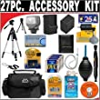 Underwater Photography - 27 Pc Ultimate Deluxe Accessory Kit For the Canon ZR950 1.07mp Minidv Camcorder Canon ZR900 MiniDV Camcorder Canon ZR930 1.07MP MiniDV Camcorder + BONUS Gift = Waterproof Camera = Great For Kids