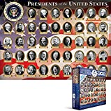 Eurographics Presidents of the United States Puzzle (XL, 300 Pieces)