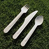 Birchware Compostable Wooden Knives (160mm) 1000-pcs.