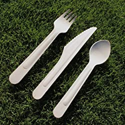 Birchware Compostable Wooden Forks (160mm) 2500-pcs.