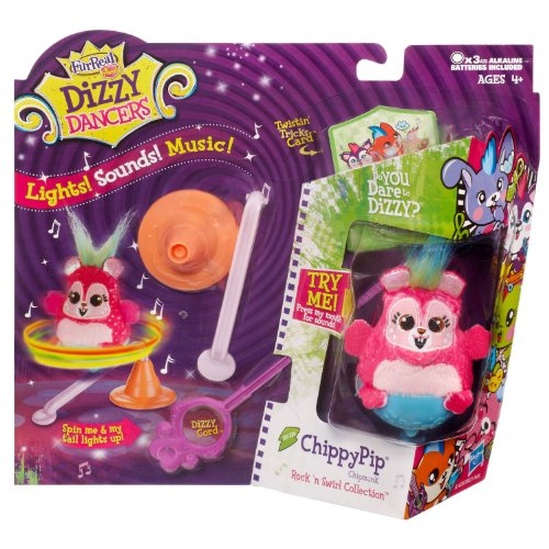 FurReal Friends Dizzy Dancers Rock 'N Swirl Collection, ChippyPip Pet - 1