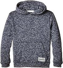 Quiksilver Keller Sweat-shirt à capuche Garçon Navy Blazer Heather FR : 16 ans (Taille Fabricant : XL/16)
