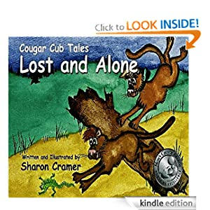 "<strong>Kids Corner At Kindle Nation Daily – Student Reviewer Caitlyn F. Reviews <em>COUGAR CUB TALES: LOST AND ALONE </em> by Sharon Cramer: ""I thought the book was interesting because cougars are my favorite animals and that they are so playful.""</strong>"