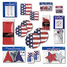Creative Converting Patriotic Party Kit