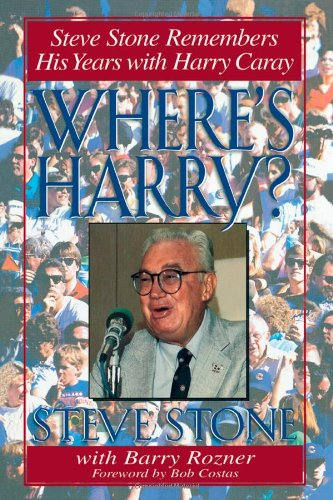 Where's Harry?: Steve Stone Remembers 25 Years with Harry Caray at Amazon.com
