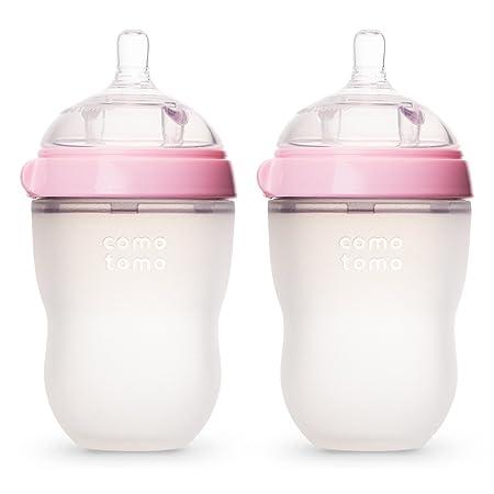 海淘Comotomo奶瓶:Comotomo 妈妈乳感硅胶软性奶瓶
