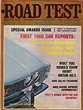 ROAD TEST Ford Bronco Dodge Dart Mercury Comet 11 1965
