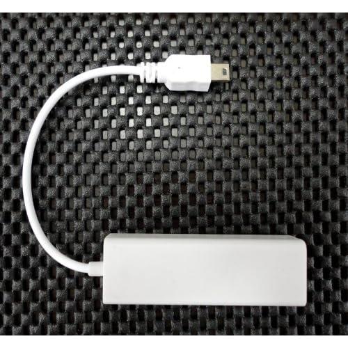 有線LANアダプタ android タブレットPC miniUSB 端子→有線LAN 変換アダプタ