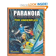 Paranoia - The Underplex by Paul Baldowski