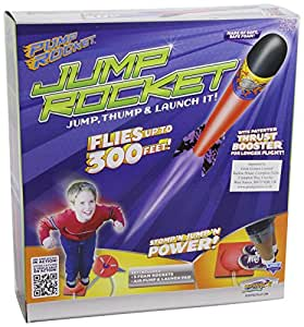 Original Geospace Jump Rocket - Launcher and 3 Rocket Set