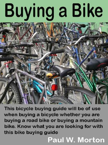 Buying a Bike: This bicycle buying guide will be of use when buying a bicycle whether you are buying a road bike or buying a mountain bike. Know what you are looking for with this bike buying guide