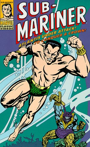 Sub-Mariner - Atlantis Under Attack / To Conquer a Crown [VHS]