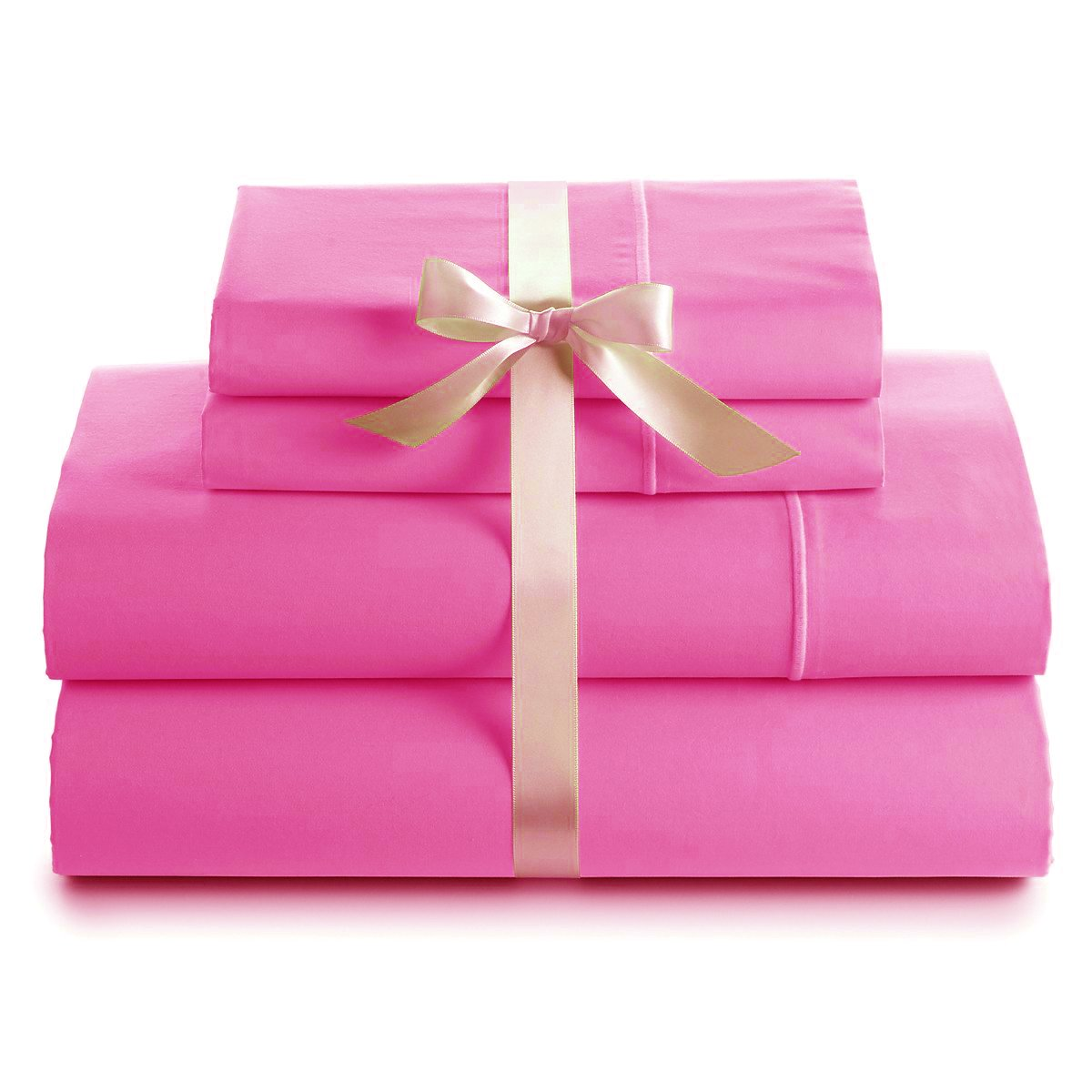 Amazon.com: Pink - Sheet & Pillowcase Sets / Sheets & Pillowcases
