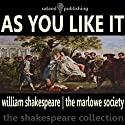 As You Like It (       UNABRIDGED) by William Shakespeare