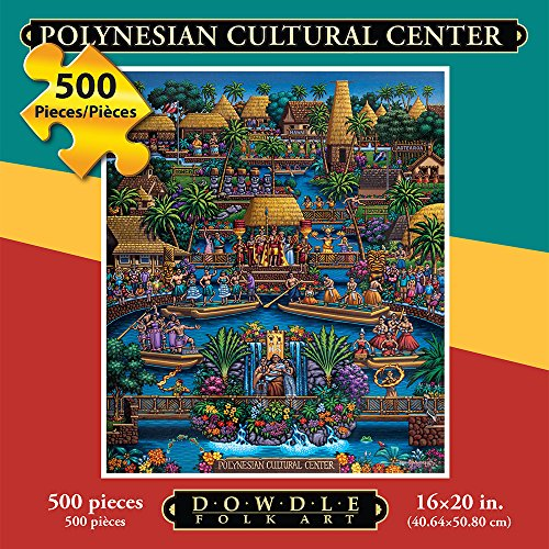 Jigsaw Puzzle - Polynesian Cultural Center 500 Pc By Dowdle Folk Art