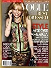 Vogue Magazine 2012 Special Edition Best-Dressed Issue - Emma Stone, Kristen Stewart, Jennifer Lawrence, Michelle Obama, Kate Upton, Lady Gaga, etc