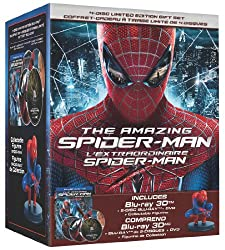 The Amazing Spider-Man 3D: Limited Edition Collector's Set + Figurine / L'extraordinaire Spider-Man 3D: Edition Limitee Collector + Figurine (Bilingual) [Blu-ray 3D + Blu-ray + DVD]