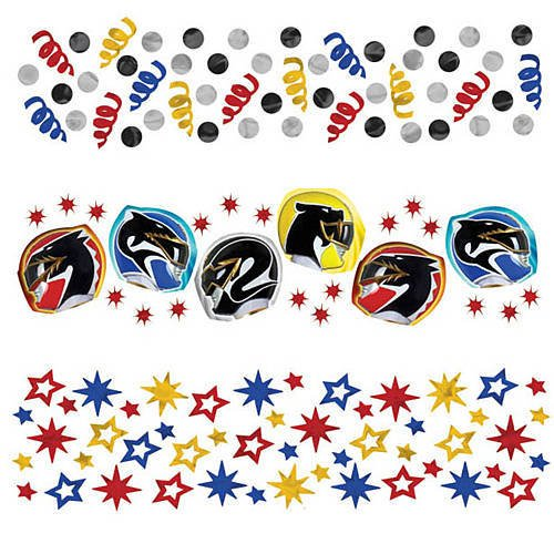 Power Rangers 'Mega Force' Confetti Value Pack (3 types)