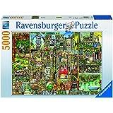 Ravensburger Puzzles Colin Thompson's Bizarre Town, Multi Color (5000 Pieces)