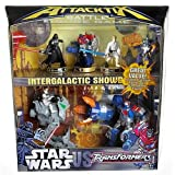 "AttackTix Battle Figure Game - Star Wars vs. Transformers (Toy) By Hasbro          3 used and new from $41.99     Customer Rating:       First tagged ""skywalker"" by TranStarJoes ""TranStarJoes"""