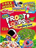 Club Pack Kellogg's Froot Loops Cereal Two Bag Value Box 43.6 oz