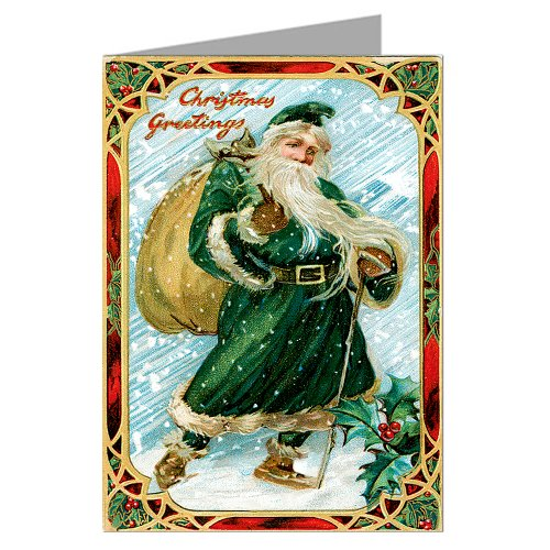 Victorian Father Christmas Decorations: VICTORIAN CHRISTMAS DECORATIONS