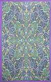 Sunshine Joy® Kaleidoscope Paisley Indian Tapestry – 60×90 Inches – Beach Sheet – Hanging Wall…