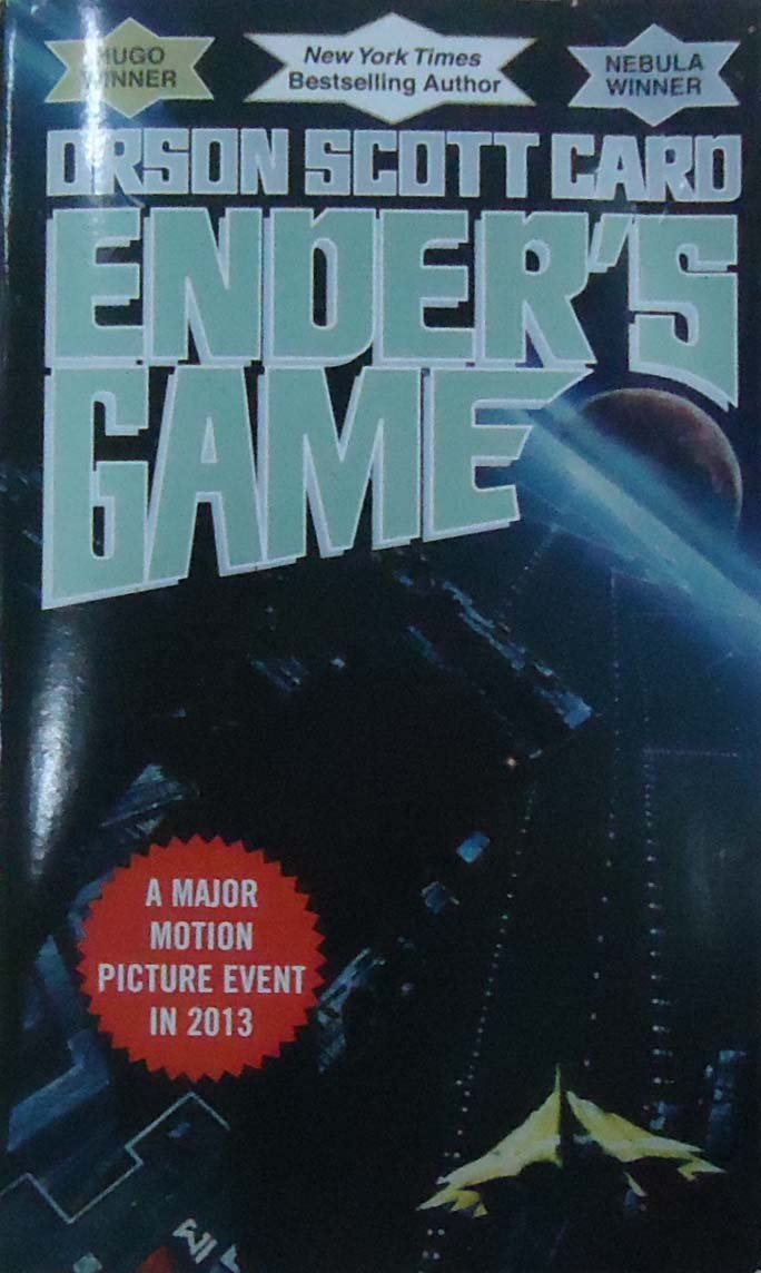 "Book Cover Graphism Game ~ Pairing ""ender s game and ""earth girl in the secondary"