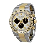 Rolex Daytona Ivory Chronograph Automatic Ivory Dial Stainless Steel and 18kt Yellow Gold Mens Watch116523IBKAO