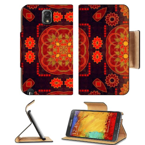 Pattern Colourful Samsung Galaxy Note 3 N9000 Flip Case Stand Magnetic Cover Open Ports Customized Made To Order Support Ready Premium Deluxe Pu Leather 5 15/16 Inch (150Mm) X 3 1/2 Inch (89Mm) X 9/16 Inch (14Mm) Liil Note Cover Professional Note 3 Cases front-932742