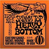 Ernie Ball 2215 Skinny Top/Heavy Bottom Electric String Set (10 - 52)